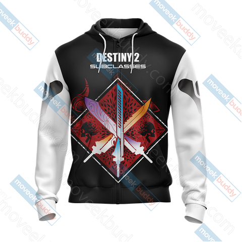 Image of Destiny New Look Unisex Zip Up Hoodie Jacket