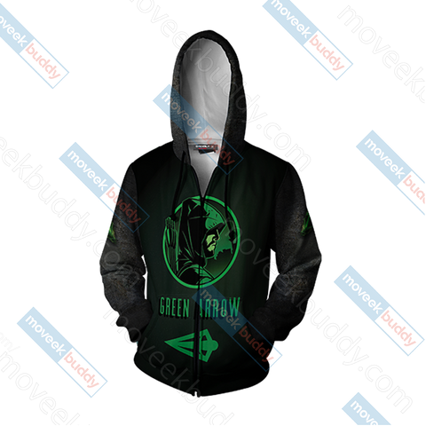 Arrow Oliver New Unisex Zip Up Hoodie Jacket