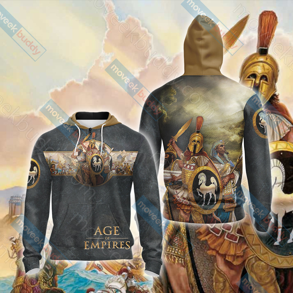 Age of Empires (video game) Unisex Zip Up Hoodie Jacket