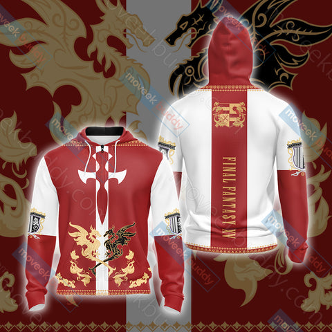 Image of Final Fantasy XV - Niflheim empire flag Unisex Zip Up Hoodie Jacket