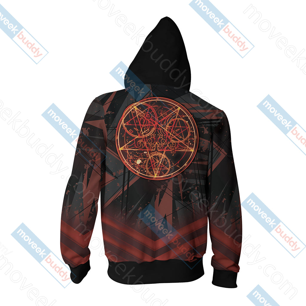 Doom New Unisex Zip Up Hoodie Jacket
