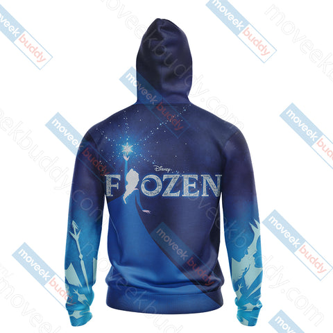Image of Frozen 2 2019 Unisex Zip Up Hoodie Jacket