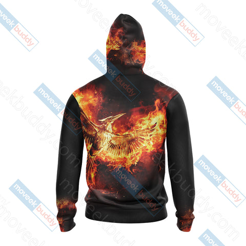 Image of The Hunger Games New Style Unisex Zip Up Hoodie Jacket