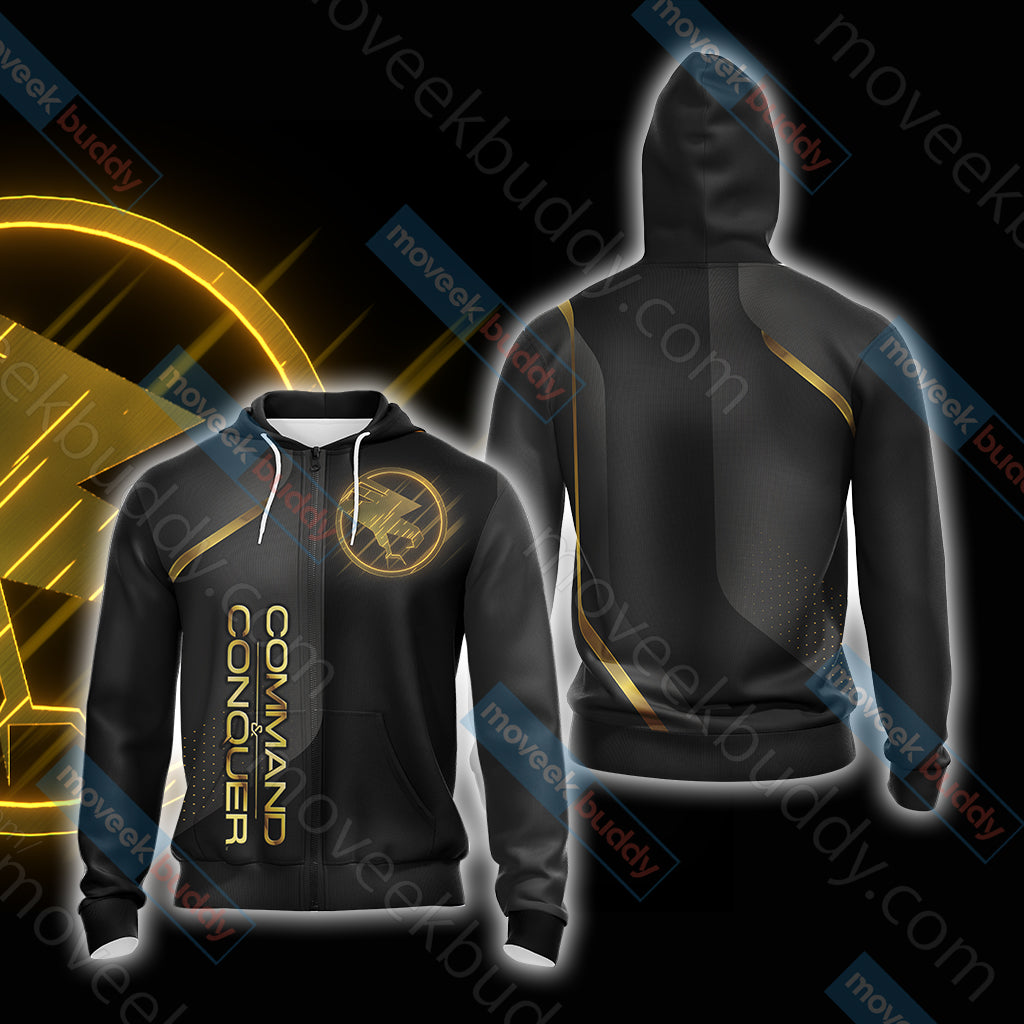 Command & Conquer - Tiberian Unisex Zip Up Hoodie Jacket