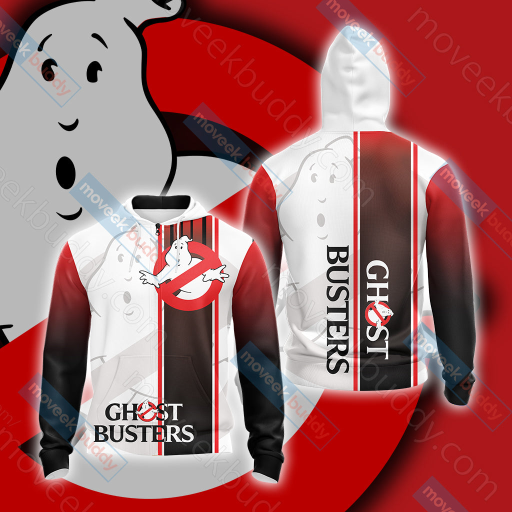Ghostbusters New Unisex Zip Up Hoodie Jacket