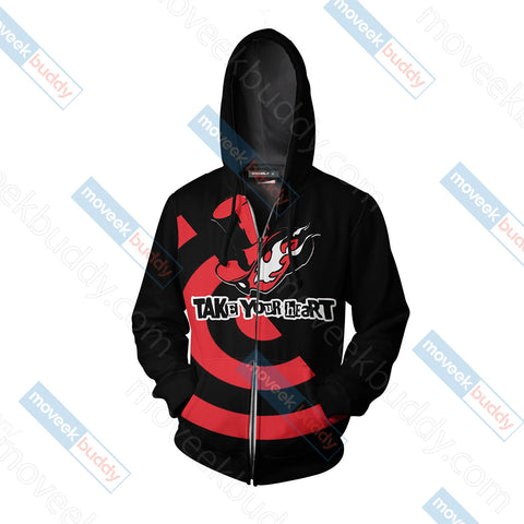 Persona 5 - Phantom Thieves Symbol Unisex Zip Up Hoodie Jacket
