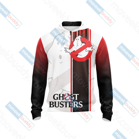 Image of Ghostbusters New Unisex Zip Up Hoodie Jacket