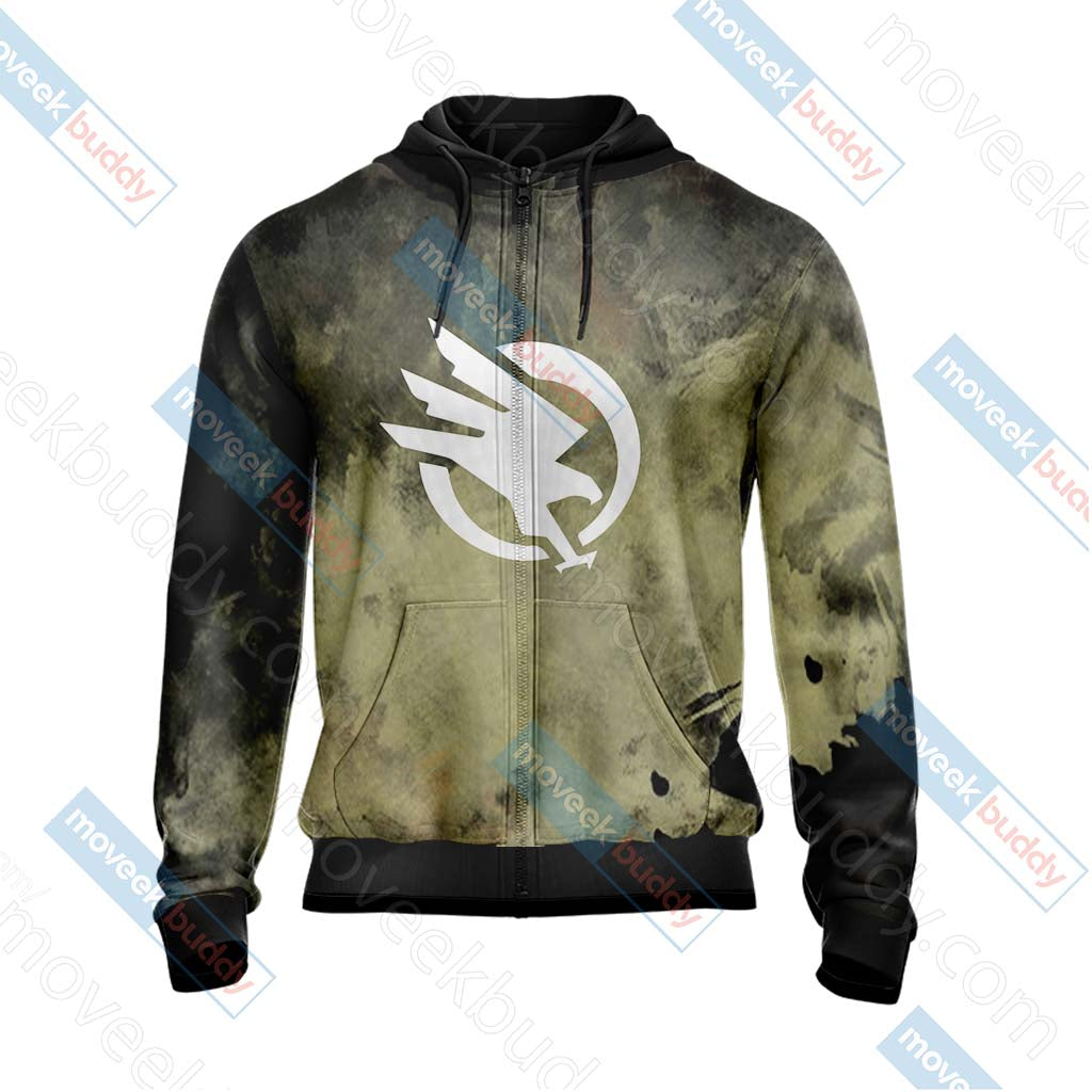 Command & Conquer - GDI Unisex Zip Up Hoodie