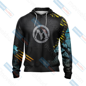 Magic: The Gathering New Unisex Zip Up Hoodie Jacket
