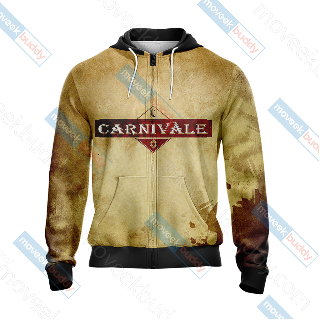 Carnivàle Unisex Zip Up Hoodie Jacket