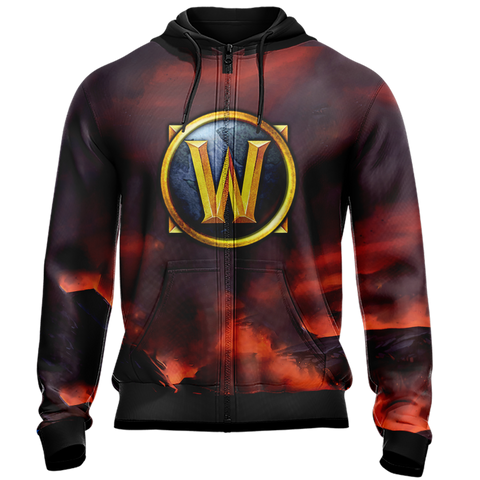 World of Warcraft - Human Rogue Unisex Zip Up Hoodie