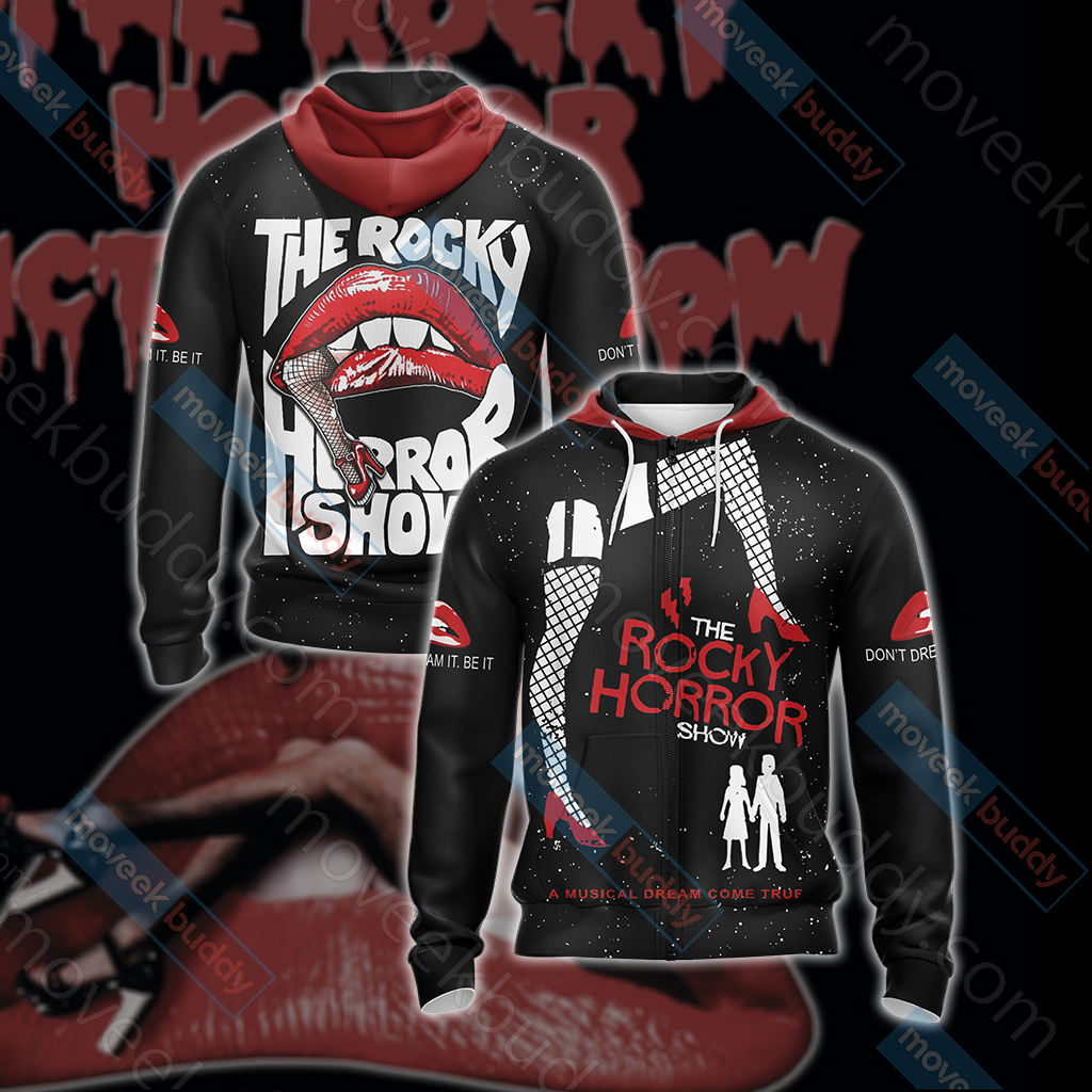 The Rocky Horror Picture Show Unisex Zip Up Hoodie Jacket