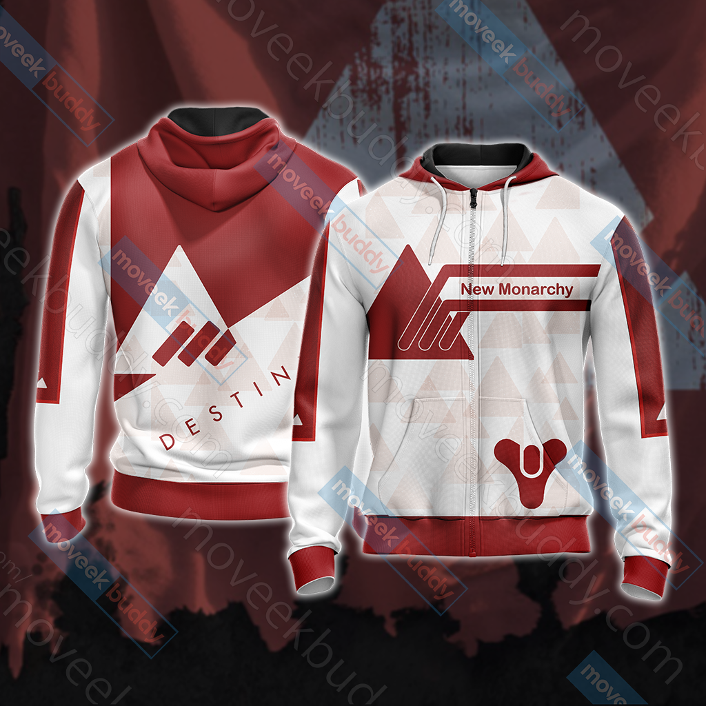 Destiny - New Monarchy New Style Unisex Zip Up Hoodie Jacket
