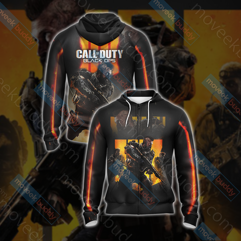 Image of Call of Duty - Black Ops 4 New Look Unisex Zip Up Hoodie
