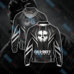 Call of Duty - Ghosts New Version Unisex Zip Up Hoodie