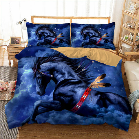 Horse Feather Bedding
