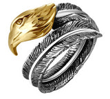 Eagle Feather Ring