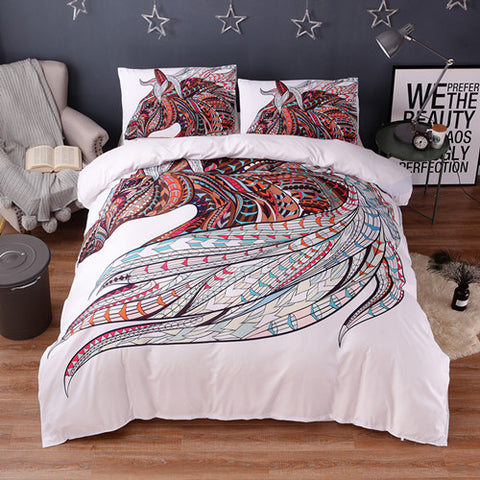Horse print bedding sets