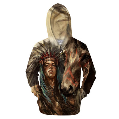 The Indian Horse Hoodie