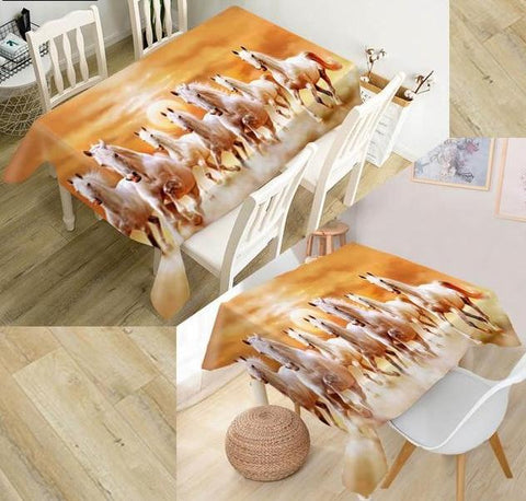 Horse Tablecloth