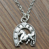 Ride to the hoof necklace