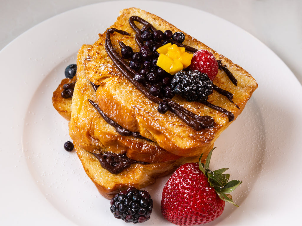 French Brioche Chocolate Gheelish French Toast