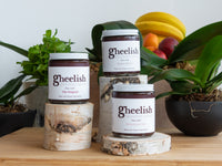 Chocolate ghee spreads in three flavors. Delicious dessert toppers as Nutella alternatives.