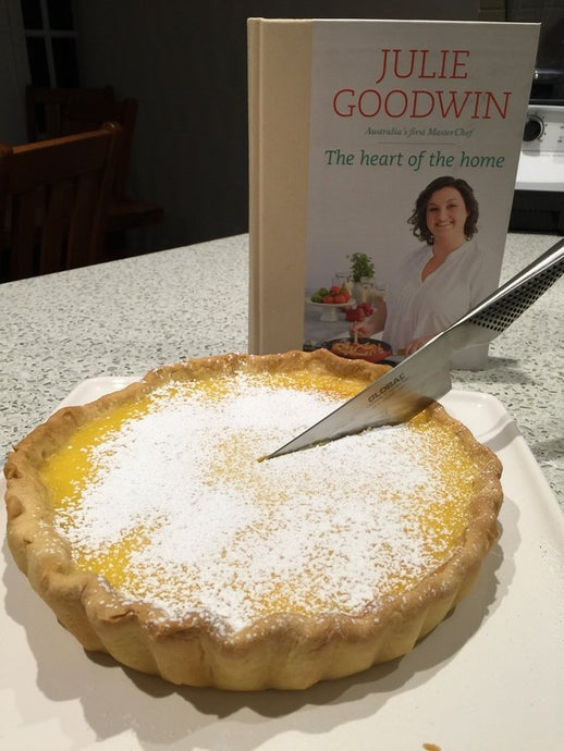 Julie Goodwin's Lemon and Lime Tart