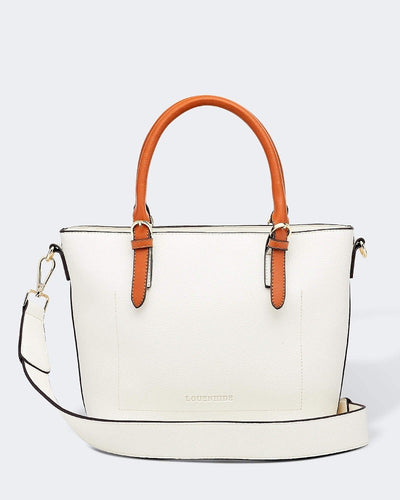 LOUENHIDE RUMER WHITE BAG