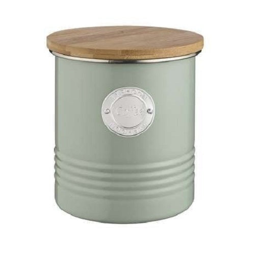 TYPHOON LIVING COFFEE CANNISTER 1LTR SAGE