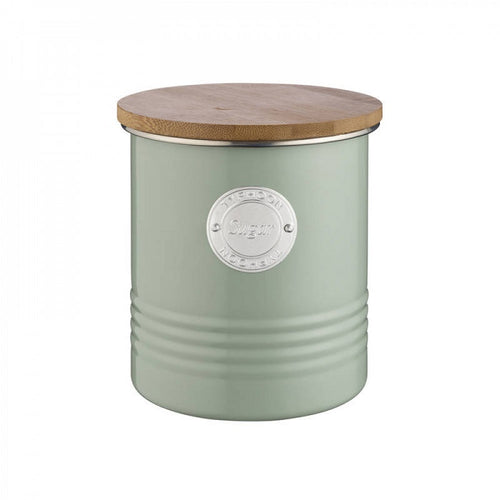 TYPHOON LIVING SUGAR CANNISTER 1LTR SAGE