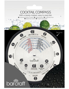 BC COCKTAIL COMPASS STAINLESS STEEL