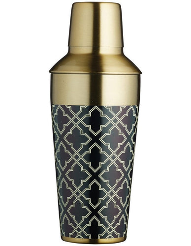 BC ART DECO COCKTAIL SHAKER 650ML GIFT BOXED
