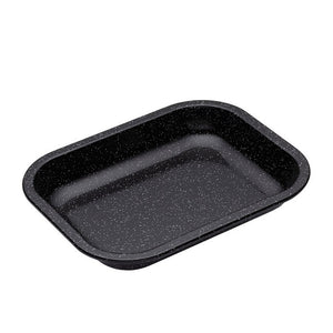 MASTER CRAFT PRO VITREOUS ENAMEL ROASTING PAN 27X21CM