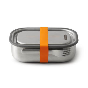 BLACK & BLUM STAINLESS STEEL LUNCHBOX ORANGE