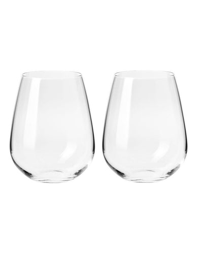 KR DUET STEMLESS WINE GLASS 500 ML SET OF 2 GIFT BOXED