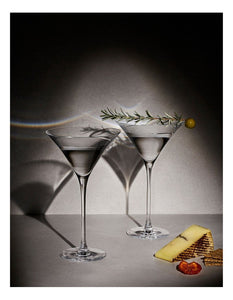 KR DUET MARTINI GLASS 170ML SET OF 2