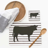 MY HYGGE HOME COASTERS -ANGUS COW