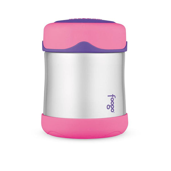 THERMOS FOOGO ST/STEEL FOOD JAR 290ML PINK