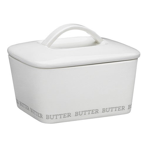 ABODE BUTTER DISH WITH LID