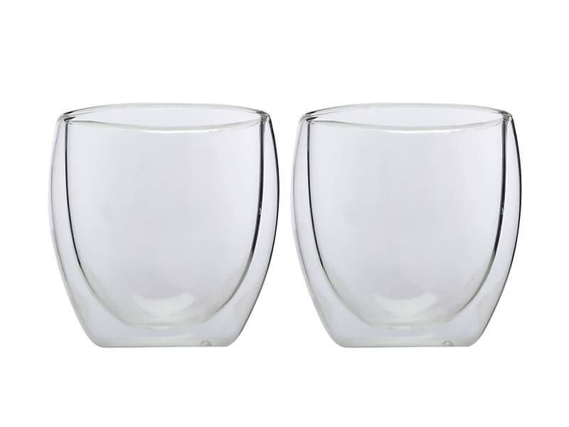 MW BLEND DOUBLE WALL CUP 250ML SET OF 2 GIFT BOXED
