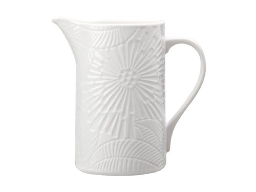 M&W PANAMA PITCHER 1.4L WHITE GIFT BOXED