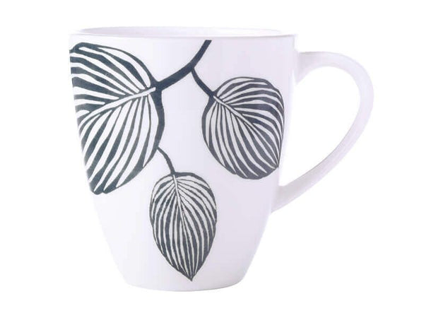 MW PANAMA COUPE MUG 350ML WHITE & GREY