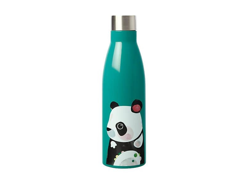 MW PETE CROMER WILDLIFE DOUBLE WALL INSULATED BOTTLE 500ML PANDA