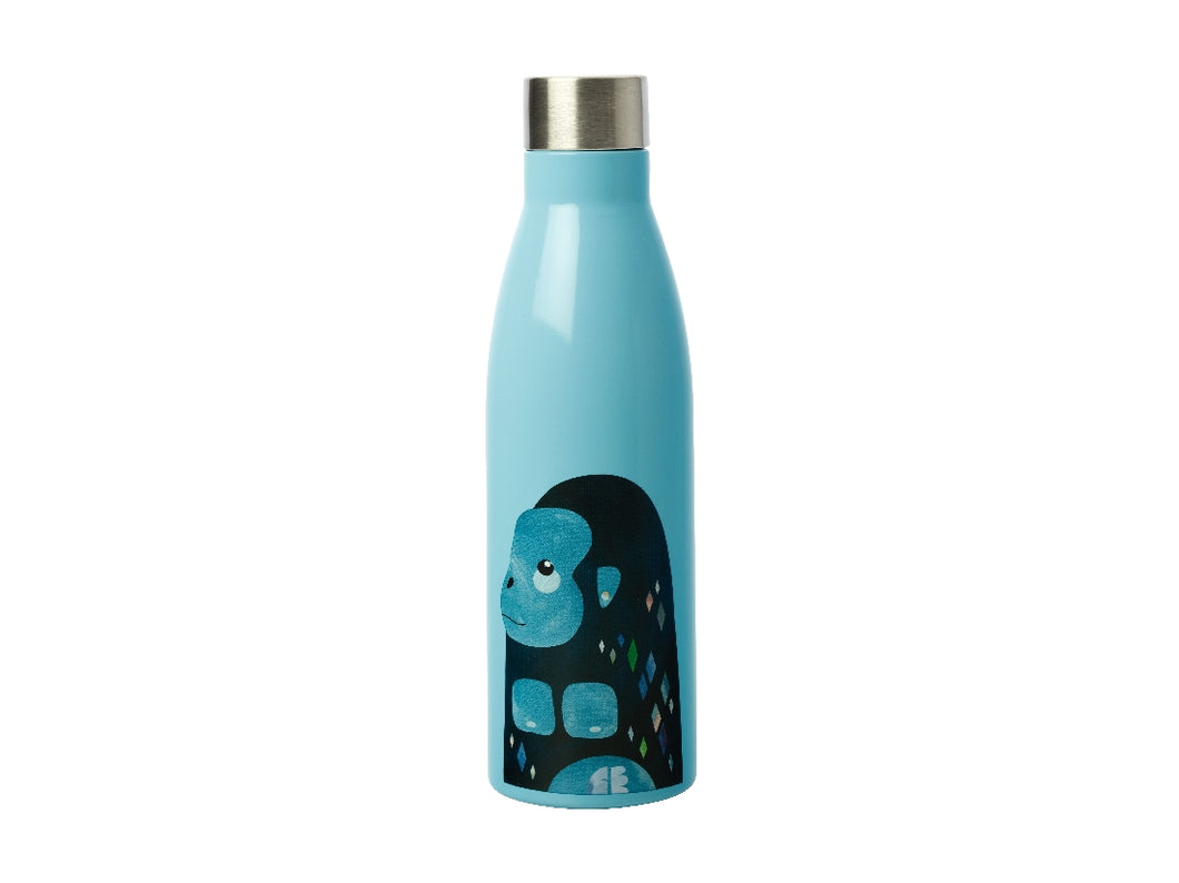 MW PETE CROMER WILDLIFE DOUBLE WALL INSULATED BOTTLE 500ML GORILLA