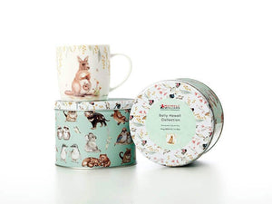 MW SALLY HOWELL MUG 340ML WOMBAT WREN GIFT BOXED