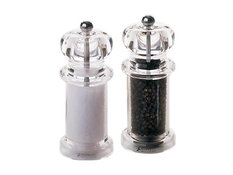 MW CLASSIC SALT & PEPPER MILL SET 14CM GIFT BOXED