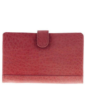 GABEE KADINA LEATHER WALLET - RED