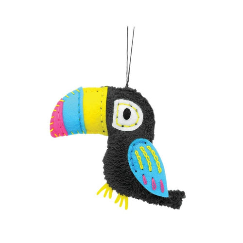 DIY SEWING CHARM STARTER PACK TOUCAN