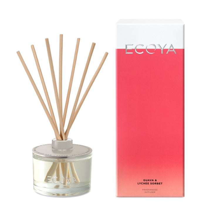 ECOYA REED DIFFUSER GUAVA & LYCHEE 200ML